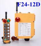 단추 배속 Industtrial 12의 무선 라디오 원격 조종 F24-12D