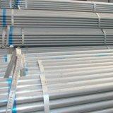 Programar el precio del tubo de acero de 40 Gi para materiales de construcción metálica de tubo de acero galvanizado Gi tubo de hierro en China