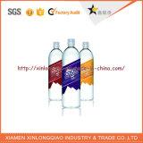 Kundenspezifischer neuester Mineralwasser-Flaschen-Aufkleber-Kennsatz-Drucken-Plastik am besten