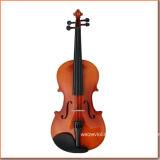 Estudiante de violín 4/4 con la caja para principiantes