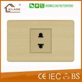 미국 표준 소켓 전기 세겹 3 Pin 벽면 소켓