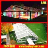 明確な屋根の防水シートの水漕の結婚式の宴会ファブリックテントマレーシア