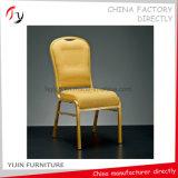Gelb gebogene Sitzhotel-Gaststätte, die Freizeit-stillstehenden Stuhl (BC-171, speist)