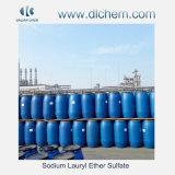 Solfato laurico SLES 70% CAS no. 68585-34-2 dell'etere del sodio