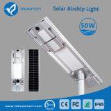 lâmpada de rua solar do diodo emissor de luz 50W com a bateria LiFePO4