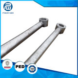 Peça hidráulica forjada e personalizada de Rod do êmbolo de aço da elevada precisão