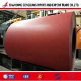 Factactury chineses PPGI Prepainted bobinas de aço galvanizado