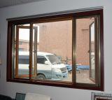 롤러 모기장 K02026를 가진 다채로운 UPVC 단면도 여닫이 창 Windows
