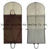 Venda por saco de embalagem promocional impresso personalizado PEVA preta e tampa do pano tecido Non-Woven Saco para o pó de embalagem adequados de viagem sacos de roupa da operadora