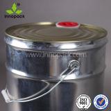 18litre一致させたふたとのコーティングのための液体の金属のペンキのバケツかバケツ、工場使用およびハンドル、堅いシーリング