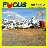 60m3/H de concreto móvil automática completa de la planta de procesamiento por lotes (YHZS60).