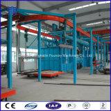 Automatische Kettengranaliengebläse-Maschine, Aufhängung verkettet Typen Sandstrahlen-Maschine