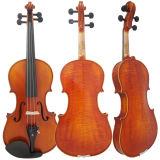 Sinomusik выдвинуло скрипку твердого чёрного дерева подходящий с сертификатом BV/SGS