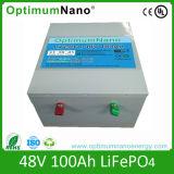 Bateria de íon de lítio certificada 48V 100ah para carrinho de golfe