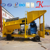 50-300 toneladas por hora Trommel lavado de oro para la venta