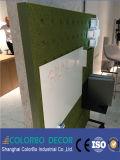 Ecoの友好的で装飾的なポリエステル線維の音響の壁パネル