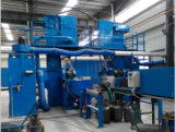 Cadena automática/semiautomática del cilindro de gas del LPG de producción