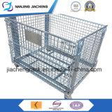 Contenitore galvanizzato pieghevole della rete metallica