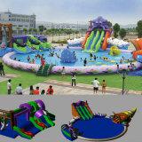 Parque Acuático hinchable gigante para el Deporte