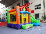 3 en 1 Inflatable Bouncer Combo avec Glisser CHB531