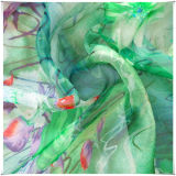 Напечатанные Silk ткани для шифонового с SGS одобрили