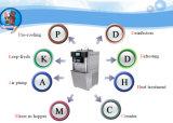 柔らかいサーブのアイスクリーム機械セリウムの中間の生産能力40-50L/H