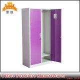Tür-Stahlmöbel-Metallspeicher-Schrank-Schließfach der Kd Zelle-zwei