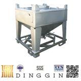 Aço inoxidável 1000 litros recipiente IBC
