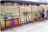 Дети Kaiqi деревянные играть наборы для школы, жилые парк, достопримечательности, отель, во дворе, саду,