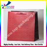 Bolso de compras de lujo del papel revestido para el boutique