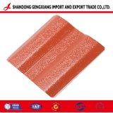 Feuille de carton ondulé galvanisé couleur Huaye pour la construction