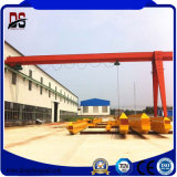 5ton Semi Single Girder Gantry Crane with Electric Hoist Machines