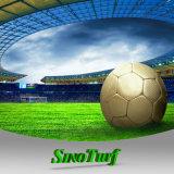 Calcio, gioco del calcio, erba sintetica del tappeto erboso di tennis con l'alta qualità