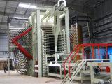 Linea di produzione calda della pressa della laminazione della melammina del ciclo di Short pannello truciolare/del compensato