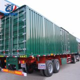 Tipo seco da caixa da carga reboque de Van do eixo da manufatura 2 de China Semi