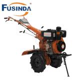 10 CV diesel arado a motor de arranque eléctrico/ cultivador de la agricultura Lanza (FD1350DE)
