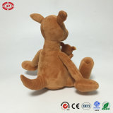 Australie Brown Kangaroo Plush Soft Stuffed Animal Sitting Toy