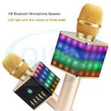 LED 빛을%s 가진 무선 휴대용 Karaoke 마이크 H8
