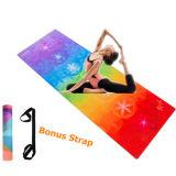 7 чакр пользовательских печатных йога коврик Non-Slip Combo полотенце и коврик