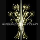 De nieuwe LEIDENE van de Decoratie Sneeuwvlok van de Fonkeling voor de Lichten van de Vakantie