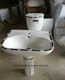 На заводе Chaozhou санитарных продовольственный золотые декоративные туалет и бассейнов