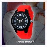 Reloj de Moda de Lujo Casual de Silicona de Nueva Llegada para Hombres
