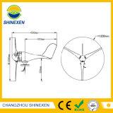 Mini horizontaler Wind-Energien-Generator der Mittellinien-100W