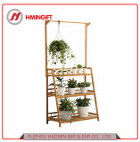El bambú esencial mostrar colgantes de flores Plantas artificiales Multi-Stores estanterías estanterías escalera mostrar
