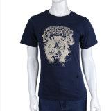 Logo personnalisé d'impression 3D hommes T-shirt en coton