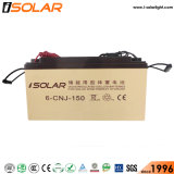 Lámpara LED 40W Batería de gel de alta potencia de luz solar calle