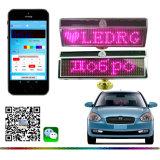 Bluetooth LED Auto-Zeichen mit Solar und USB, der rosafarbenes urlaub-Meldung-Panel LED-Bildschirmanzeige-des Anschlagbrett-LED laufendes Meldung-Zeichen der Farben-LED Miniweihnachtsdes geschenk-LED auflädt