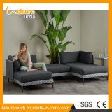 Para todos os climas moderno conjunto de mesa de jantar com sofá de alumínio Almofada Definir Pátio Exterior Mobiliário de Jardim