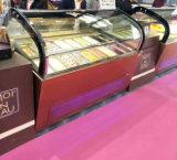 Мороженое дисплей морозильной камере/мороженого Гелато Экономи холодильник