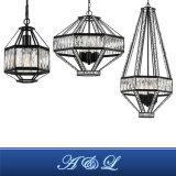 Tilina Série Modernes de Style Nordique Lustre en Cristal Lampe de la Poignée de Commande